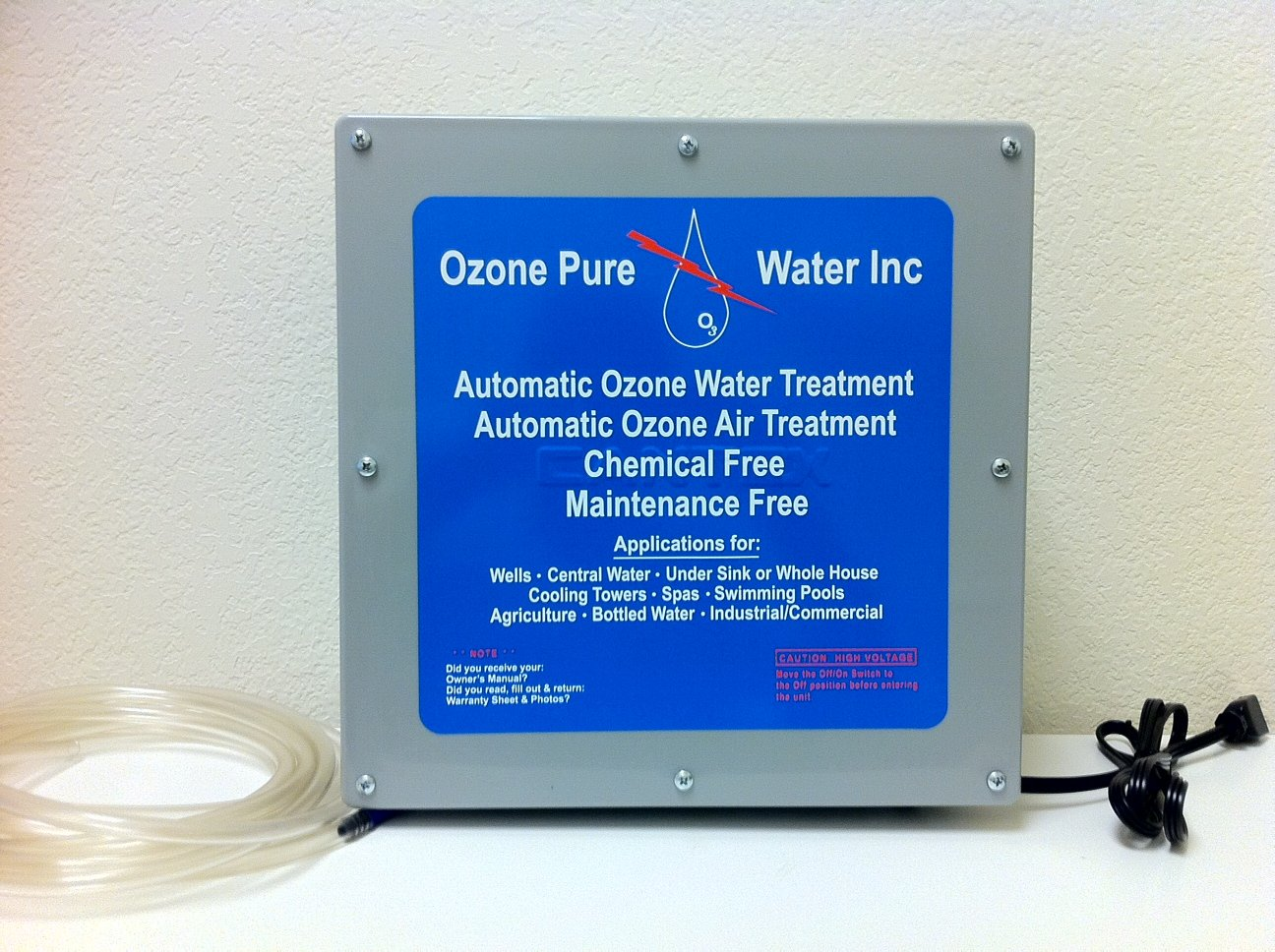 Best water filtration system for well water - Ozone Pure Ozonator